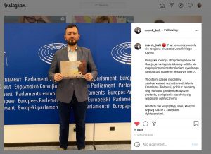 Marek Balt, Polish MEP